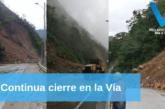 Continua el cierre en la vía Bogotá – Villavicencio