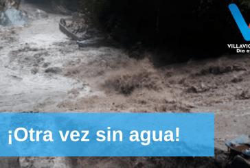 Intensas lluvias afectaron la línea de aducción de la bocatoma del acueducto de Villavicencio