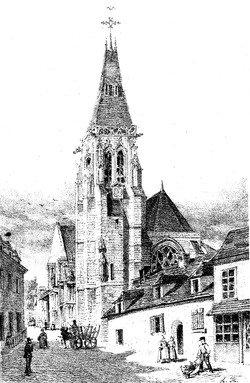 Conty - l'église
