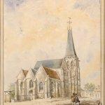 Illustration d'une ancienne architecture de l'église de Conty