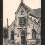 Façade de l'église de Conty