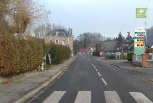 La rue Henry Dunant