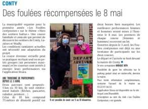 Article du courrier Picard du 17 avril 2021