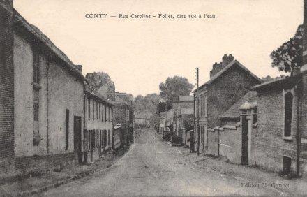 La rue Caroline Follet
