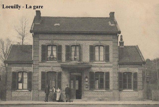 Loeuilly - La gare