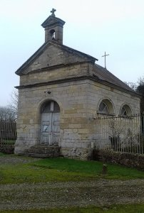 Luzières les Conty - La chapelle du château