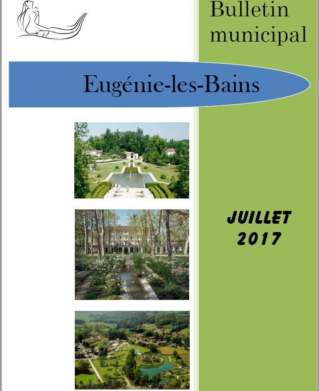 Edition JUILLET 2017
