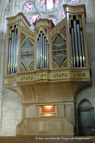 Guignicourt - Orgue Jean Daldosso inauguré en septembre 2003