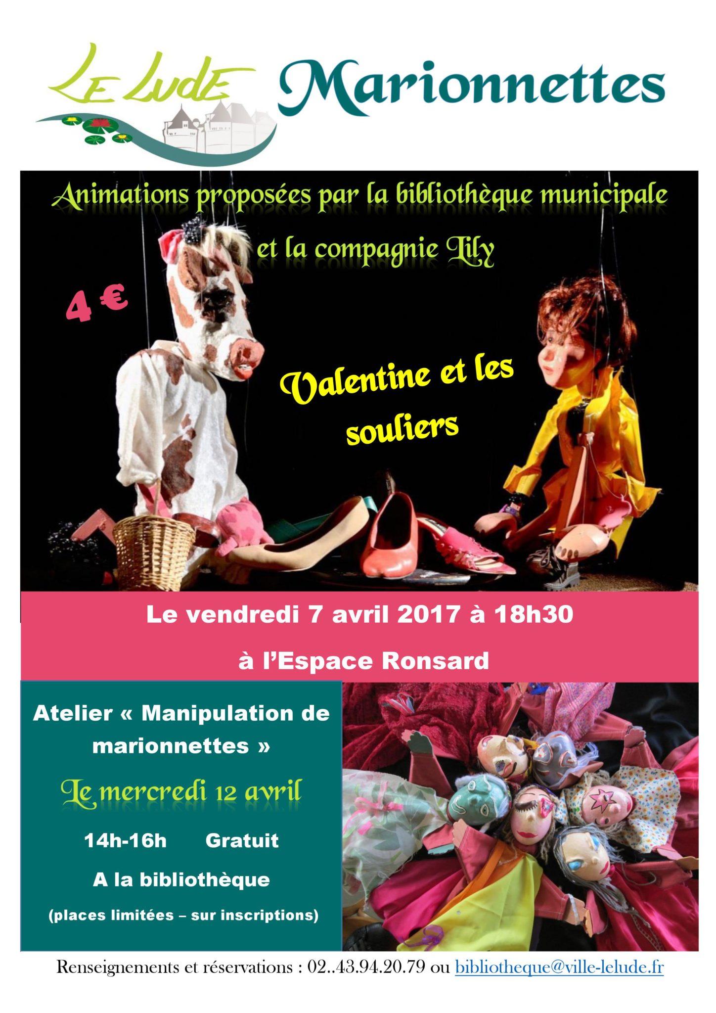 Spectacle De Marionnettes La Ville Du Lude