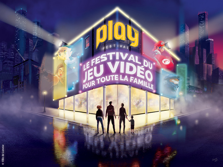 """play it festival"" Lille Lomme"
