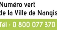 Numéro vert de la ville de nangis