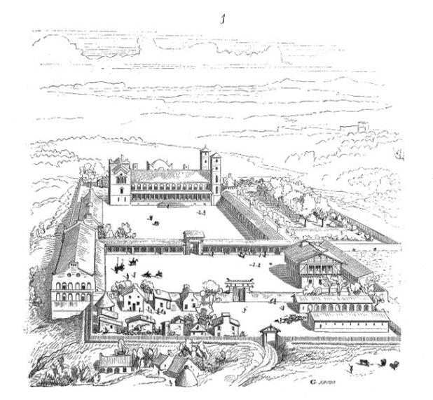 Palais de Charlemagne à Verberie