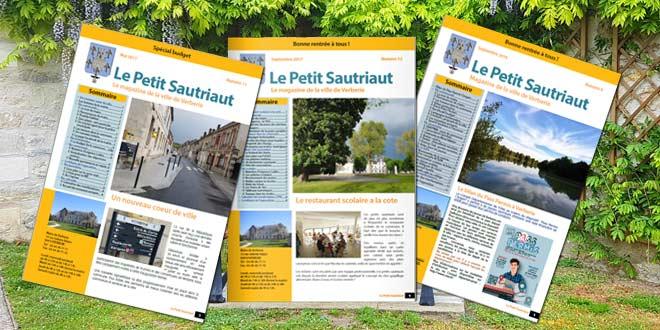 """La version électronique de votre bulletin municipal """"Le Petit Sautriaut"""""""