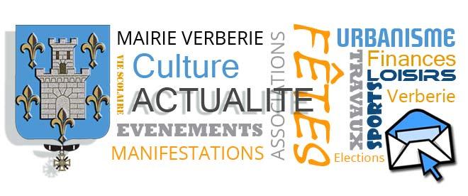 Inscription à la newsletter de la Mairie de Verberie