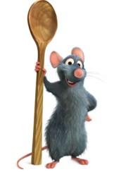 Ratatouille, menus de la cantine de verberie