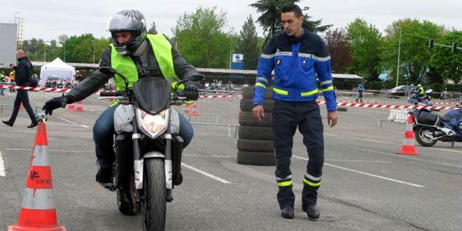 Formation moto le 14 septembre 2014