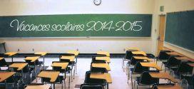 Calendrier des vacances scolaires