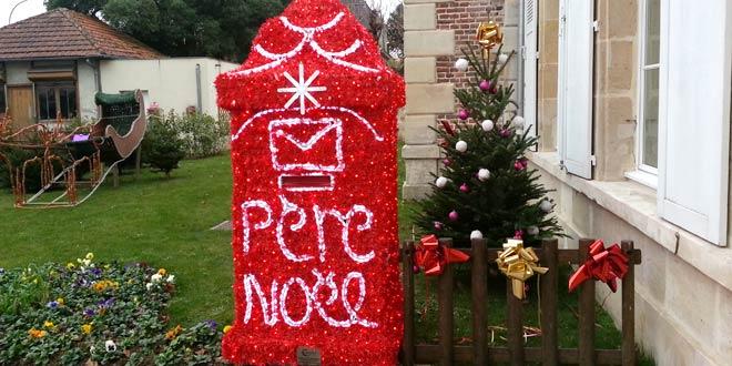 Boîte aux lettres du Père Noël
