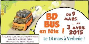 Le BD bus à Verberie ! @ Bibliothèque de Verberie | Verberie | Picardie | France