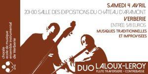 Concert - Le duo Laloux-Leroy @ Salle des expositions du château d'Aramont | Verberie | Picardie | France