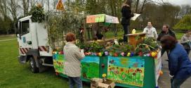 La fête du printemps : un défilé dans les rue de Verberie