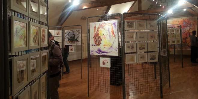 A ne pas manquer : l'exposition de peinture de l'association Art et Culture