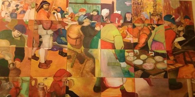 Un magnifique tableau de l'association Art et Culture