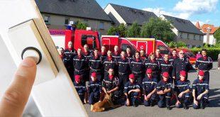 Les pompiers de Verberie distribuent leur calendrier, soyez généreux !