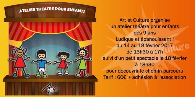 Le théâtre pour les enfants, c'est vraiment géant !