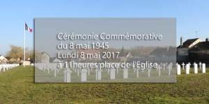 Commémoration du 8 mai 1945 @ Monuments aux morts et nécropole nationale | Verberie | Hauts-de-France | France