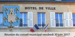 Réunion du conseil municipal @ Mairie de Verberie | Verberie | Hauts-de-France | France