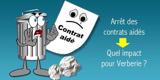Fin des contrats aidés : 10 000 € de coût supplémentaire pour les 4 derniers mois de l'année pour Verberie