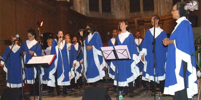 Concert Gospel le 7 octobre 2017 à l'église Saint Pierre de Verberie