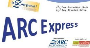 Un sondage sur les bus de l'Arc Express