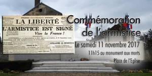 Commémoration du 11 novembre @ Monument aux morts | Verberie | Hauts-de-France | France