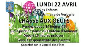 Chasse aux oeufs @ Parc du château d'Aramont
