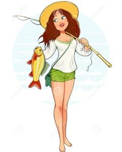 Concours de pêche spécial femmes @ Etang face au Park nautic - Verberie