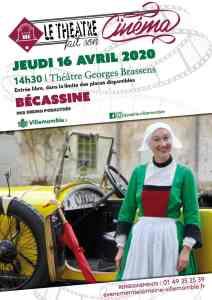 """ANNULÉ // Cinéma : """"Bécassine !"""" @ Théâtre Georges Brassens"""