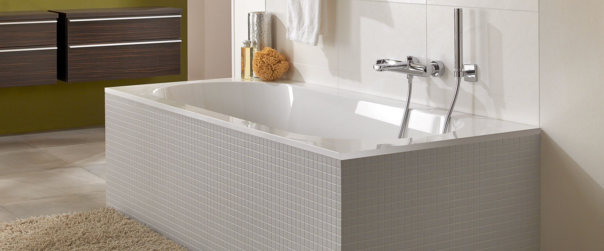 Oberon Collection By Villeroy Amp Boch Rectangular Bathtubs