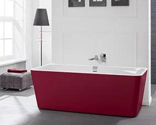 baignoires colorees