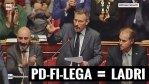 M5S: NO al Fascistellum (Rosatellum)! PD, Forza Italia e Lega per sempre assieme