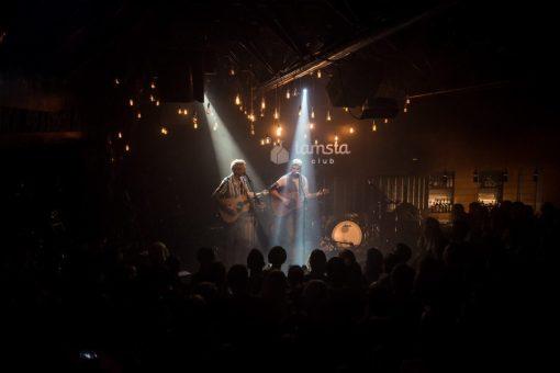 Concert at a music club in Vilnius