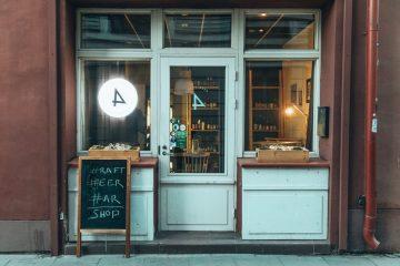 Alaus Pirkliai, craft beer bar