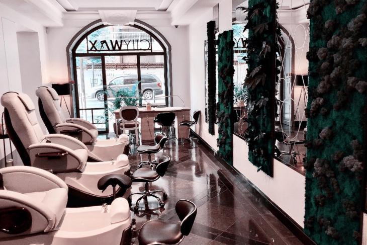 City Wax beauty salon in Vilnius city centre