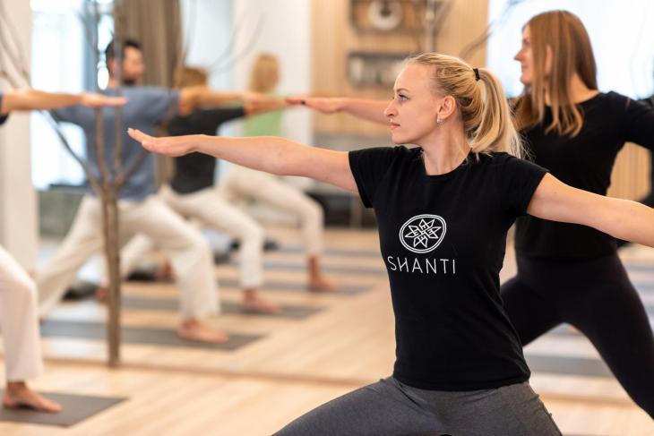 Shanti meditation and yoga studio in vilnius