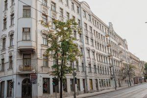 New town building in Vilnius