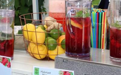 Vadelma Lemonade