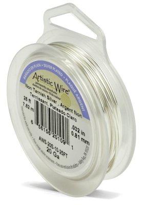 Artistic Wire 20-Gauge Tarnish Resistant