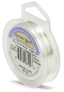 Artistic Wire 28-Gauge Tarnish Resistant Silver Wire