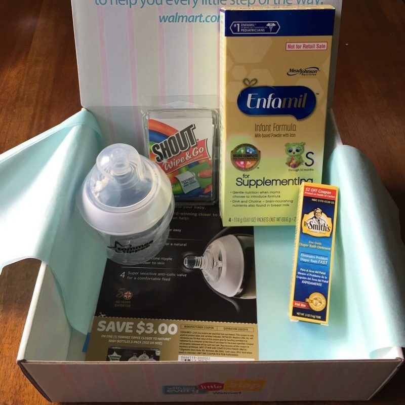 Walmart baby box What's inside the box